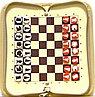 Шахматы магнитные дорожные с доп. компл.РШД
