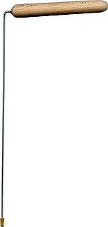 Рамка биолокационная  №1 (стальная классическая с деревянной ручкой)